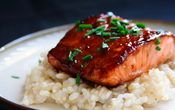 ... orange and fennel grilled salmon with miso glaze 26 miso glazed salmon