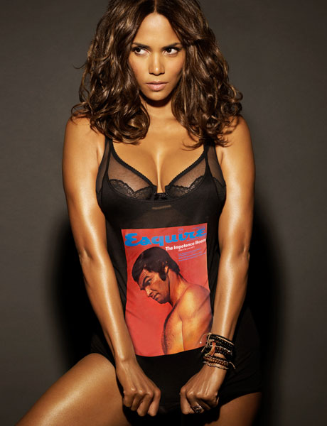 Halle Berry has been named Esquire's, Sexiest Women Alive.