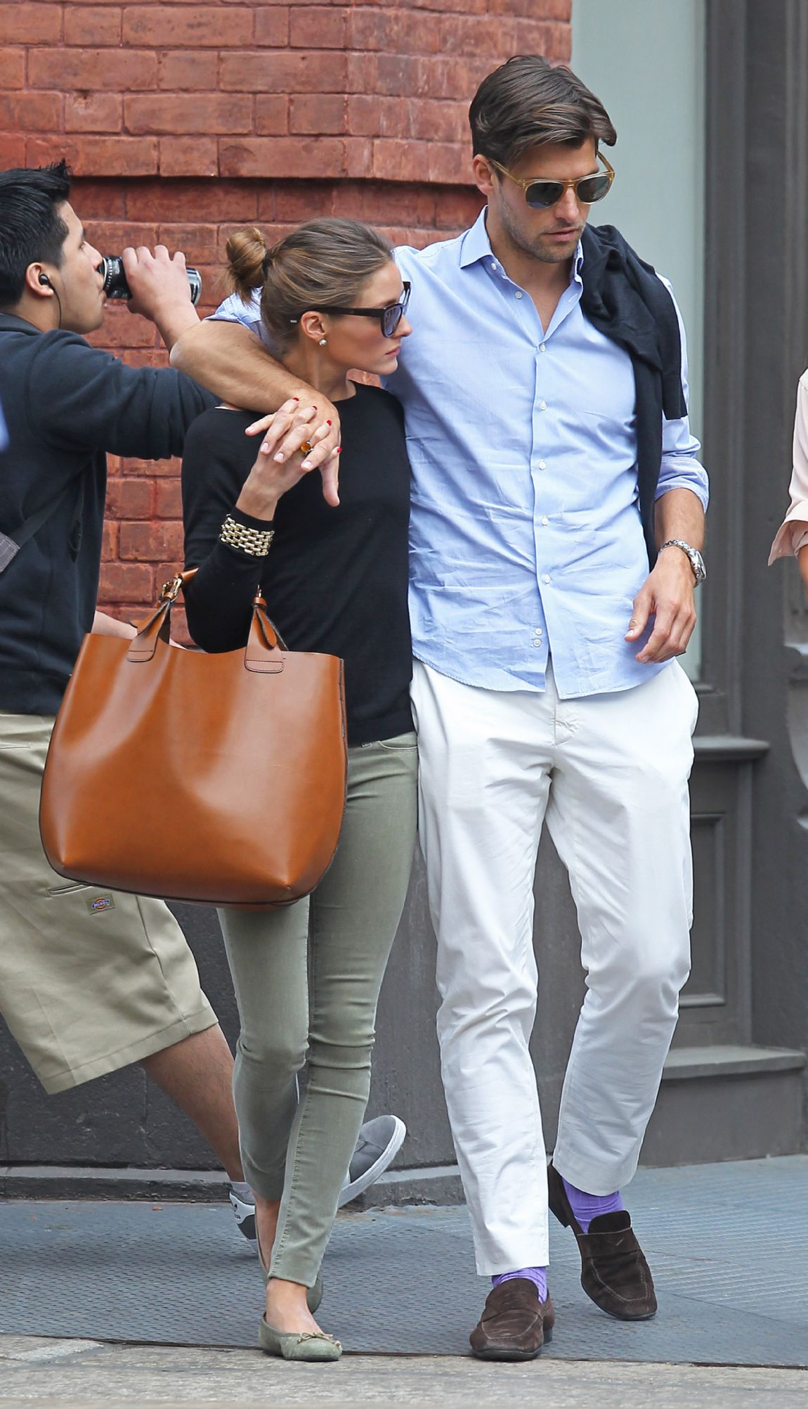 Hills Freak: Olivia Palermo & Johannes Huebl: Out & About in NYC