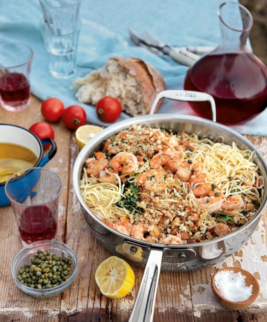 Fresh Pasta with Prawn and Lemon Oil — Taryn Cox The Wife