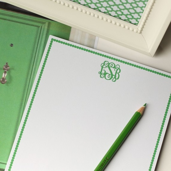 Tips for Monogramming
