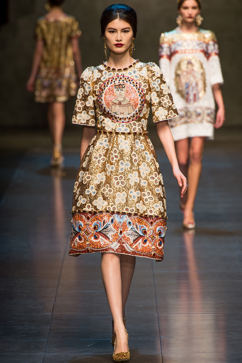 f7d58f2c Dolce and Gabbana, Fall 2013 — Taryn Cox The Wife