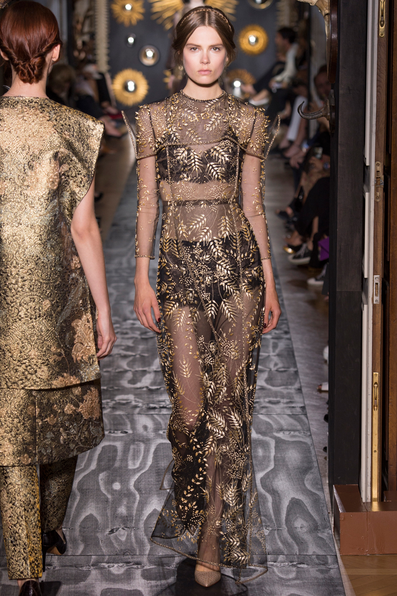 Valentino Couture Fall 2013 Taryn Cox The Wife