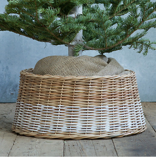 Christmas Tree Basket Skirt