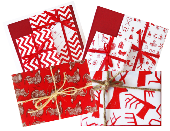 THE WIFE Guide: Holiday Wrapping Paper