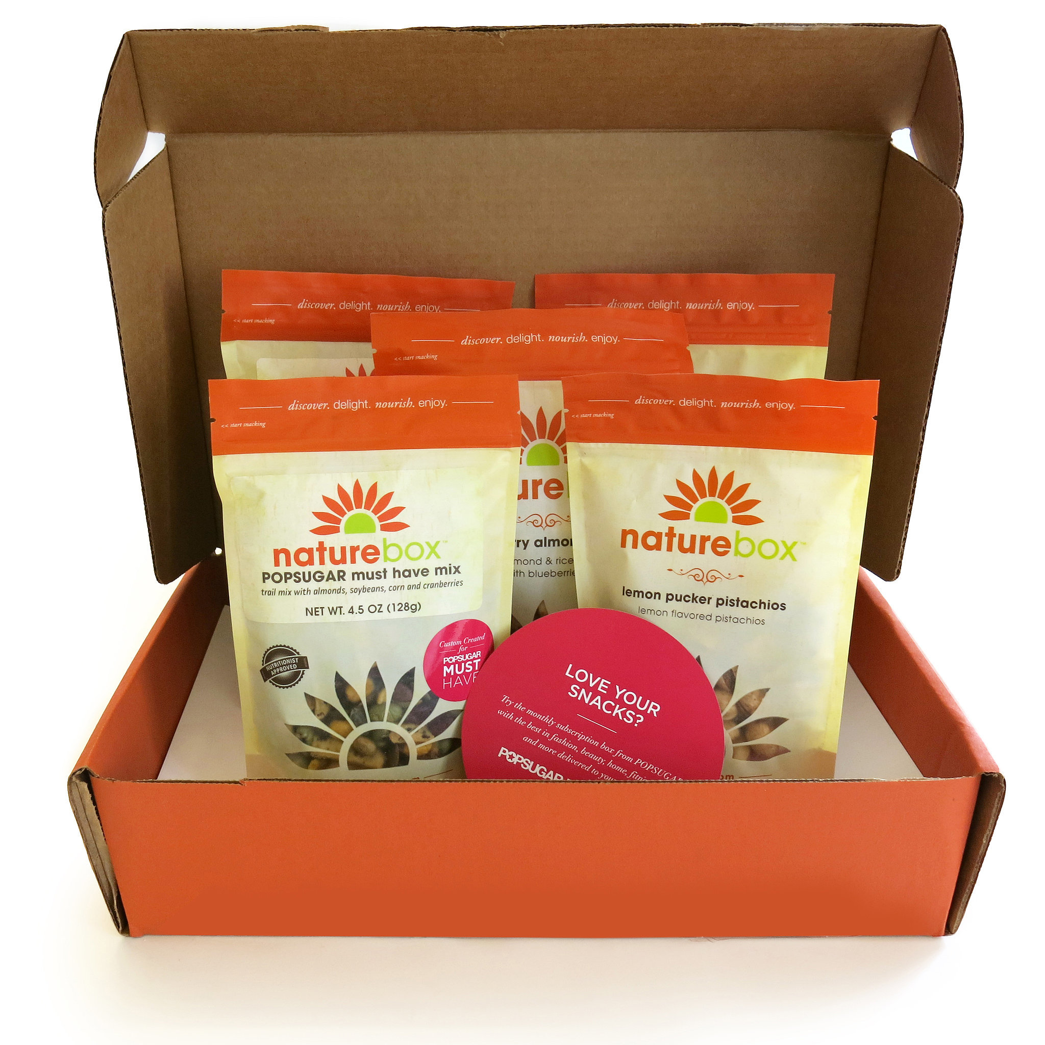 The latest Tweets from NatureBox (@naturebox). We make smart, delicious snacking easy. Discover over bold, satisfying choices delivered right to your door. #naturebox. U.S.A + CanadaAccount Status: Verified.