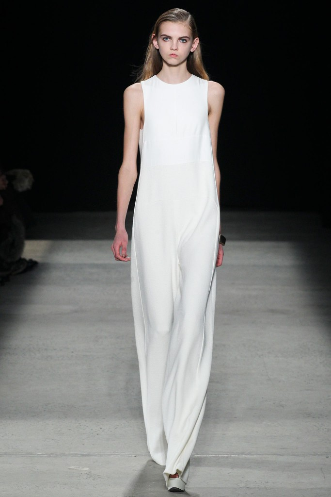 Narciso Rodriguez Fall 2015 Taryn Cox The Wife
