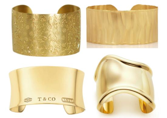 THE WIFE Guide Gold Cuff Bracelets — Taryn Cox The Wife